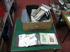 A Large Heavy Carton of Stamps, First Day Covers, PHQ Cards and Ephemera, Countries include Malta,