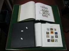 Two Albums of G.B Stamps Mint and Fine Used from 2000's, decimal face value of mint stamps over £