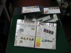 Over 200 G.B First Day Covers, mainly 1980's to 90's plus two coin covers