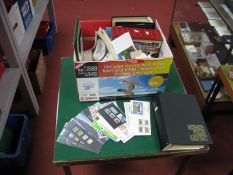 A Large Box to Sort, includes G.B and World Stamps on and off piece in stockbooks, in envelopes
