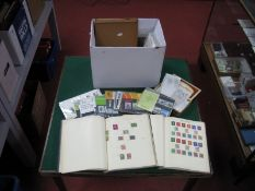 A Carton of Mainly Used G.B and World Stamps, in albums, small boxes and packets, includes a small