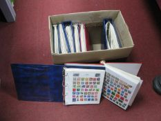 A Collection of Mint and Mainly Used Stamps, from Countries A-Z in eight binders, good condition and