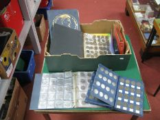 A Collection of Predominantly G.B Base Metal Coins, mostly presented in albums, some date runs and