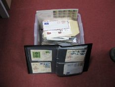 A Carton Containing a Large Selection of G.B and World Postal History and First Day Covers, in two