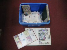 An Accumulation of Mint and Used Stamps of Austria, Spain, Switzerland etc, in albums on pages, in