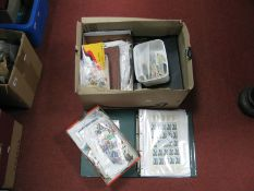 A Carton of Mint and Used Stamps of the World, includes GB Queen Elizabeth Pre-Decimal Collection,