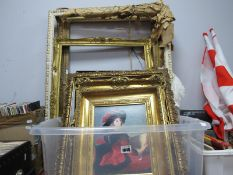 Eight Picture Frames, framed print.