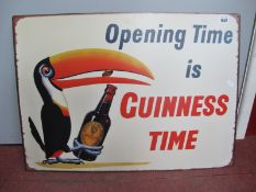 Guinness Metal Wall Sign, 50 x 70cm.