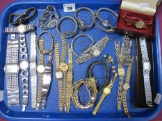 A Mixed Lot of Assorted Ladies Wristwatches, including Rotary, Pulsar, Limit, Suzi B, Seiko etc :-