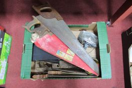 Spear & Jackson, Garlick, Newbould & Tyzack Woodworking Saws, Moore & Wright micrometers, Monchal