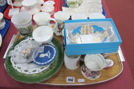 Queen Victoria Enamelled Beaker, Shelley 1911, Stanley 1937, Doulton 1902 and other Commemorative