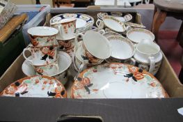 Crown and Other Edwardian Floral Tea Ware, of approximately seventy five pieces.