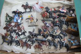 A Quantity of Both Hollow and Solid Cast Lead Figures by Britains/Del Prado and Others, mainly