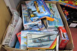 A Quantity of Plastic Model Military Aircraft Kits, by assorted manufacturers, kits are either