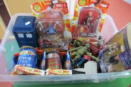 A Quantity of Modern Doctor Who Plastic Action Figures and Accessories, by character and other