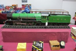 A 2½ Inch Gauge 4-6-2 Live Steam A3 Class Locomotive and Tender, finished in LNER, R/No. 4472 - '