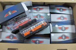 Twelve 'Classic Coaches' Collection by Atlas, all boxed.