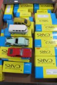 Over Twenty Cars From The Corgi, Hachette, Solido 'Century of Car Series, all boxed.