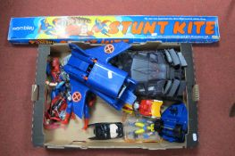A Quantity of Plastic Model Vehicles, Figures, all appearing to have a DC Comics or Marvel Theme