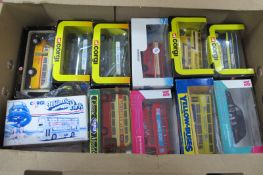 Twelve Various Buses by Corgi and Others, all boxed.