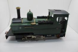 An 0-6-2 Live Steam Tank Locomotive - 'SLR85', by Merlin Locomotive Works, Powys, 16mm gauge 1,