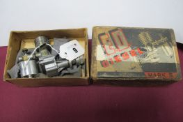 An Electronic Developments (Surrey) Ltd, E.D.Diesel Aluminium Alloy Mark II Model Aero Engine,
