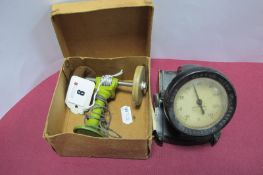 A Pre-War Marklin 'Grinder and Polishing' Wheel, boxed and a Rototherm.