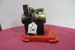 Mamod MMI Station Steam Engine, with burner, well used.