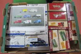 Eight Matchbox Collectibles 'Power of The Press Series, all boxed, five Great British Buses and