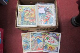 Approximately 200 '2000 AD' Comics, from the 1980's/1990's.