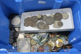 A Small Quantity of XIX Century British Coinage, including 1891 Silver Shilling, and 1890 Silver