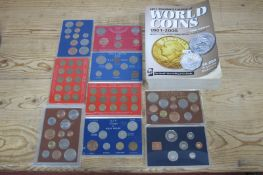 Nine 1960's and Later Sandhill Cases, Mainly GB Coinage, 1979 Brunei noted. Plus 2011