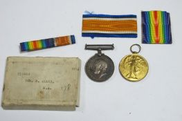 A WWI Medal Duo, comprising War Medal and Victory Medal to 219663 Dvr N. Allen, Royal Artillery,