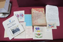 The 14th (Hallamshire) Battalion York and Lancaster Regiment 1914-1919 by Capt D.P. Grant, (maps