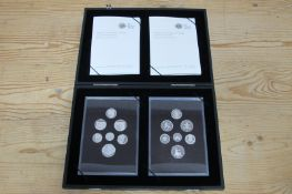 The Royal Mint 2008 United Kingdom Coinage, Royal Shield of Arms Emblems of Britain Silver Proof