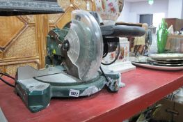 Parkside Electric Mitre Saw, PKS 1500 A1, untested: sold for parts only.
