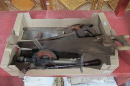 Sorby Vickers Hall and Other Saw, Stanley Drills:- One Box