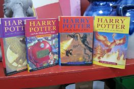 J.K. Rowling - Harry Potter Books - Order of the Phoenix (first edition 2003), Goblet of Fire (