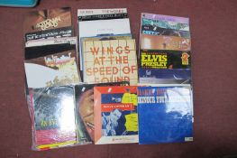 Records - L.P's: to include Led Zeppelin, U2, David Bowie, Boomtown Rats, Wings, Tom Lehrer,