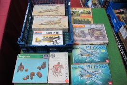 A Small Quantity of Plastic Kits, by Frog, Airfix, Monogram and others, various themes including