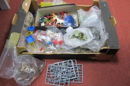 A Quantity of Mid XX Century and Later Plastic Figures, by Britains, Airfix and others, all