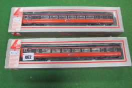 A Lima 'OO' Scale Two Car Class 57 DMU - 'Strathclyde Transport', boxed, playworn.