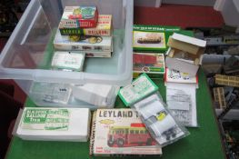 A Quantity of Mainly 'OO' Scale Railway Related Plastic and Metal Kits, by Airfix, Keilcraft and