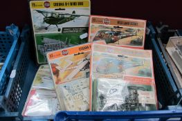 Six Plastic 1/72nd Scale Aircraft Kits by Airfix, all on bubble cards including Me Komet, Westland