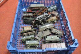 Two 'OO' Scale Tank Locomotives and Nineteen Pieces of Rolling Stock, by Hornby, Airfix and