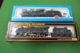 Two 'OO' Scale Locomotive, a Bachmann 4-6-0 Jubilee Class and an Airfix 0-6-0 4F Fowler, both