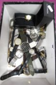 Assorted Ladies and Gent's Wristwatches, including vintage Oris (lacking winder), Rotary, Sekonda,