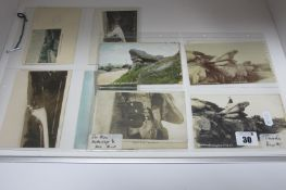 Burbage - Toads Mouth Derbyshire, Fourteen Early XX Century Picture Postcards, depicting Toads