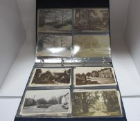 Great Longstone - Derbyshire Thirty Nine Early XX Century and Later Picture Postcards, including
