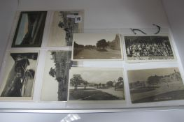 Litton - Derbyshire, Sixteen Early XX Century and Later Picture Postcards, including Village,